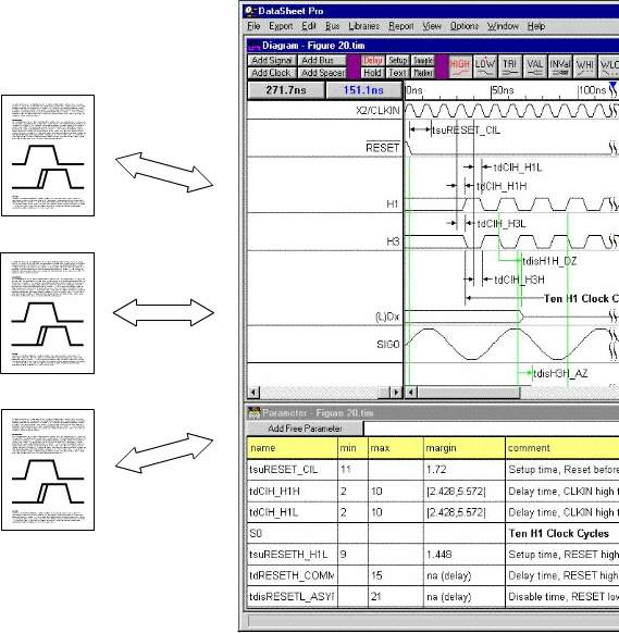 Synapticad datasheet pro features ole number of timing diagrams because two separate files need not be maintained for each diagram ole is supported by many of the most popular documentation ccuart Images