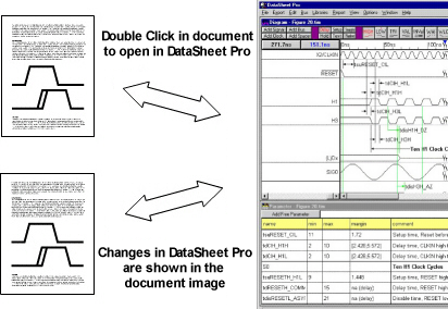 Timing diagram editing and analysis ole provides a convenient way to manage timing diagrams which are included in many of your documents such as word processor files spreadsheets ccuart Images